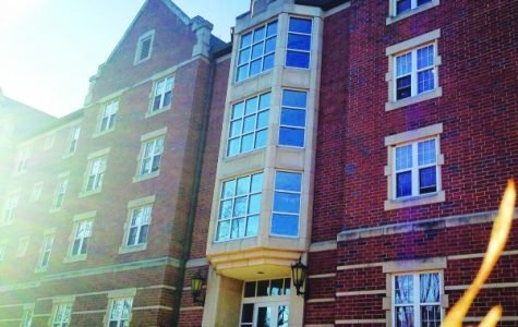 A photo of Mathews Hall, a currently all-male dorm on Lindenwood's St. Charles campus. File photo from Lindenlink.