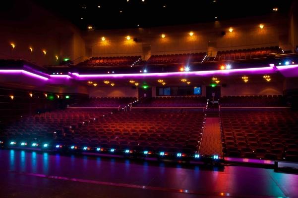 Photo of the Lindenwood Theater  Photo from lindenwood.edu