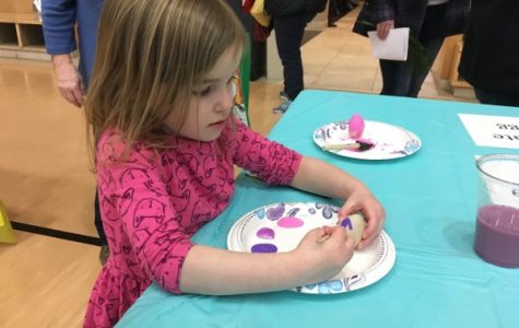 More than 200 children attend first Residential Life Easter egg hunt