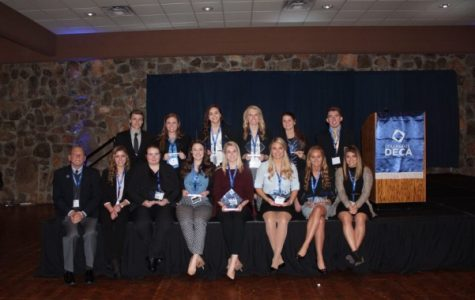 Lindenwood's DECA team competed in 13 events at the annual state conferencce for the Missouri Collegiate Association of DECA on Feb. 22 and 23 at the Lodge of Four Seasons, Lake Ozark. <br> Photo provided by Carol Felzien