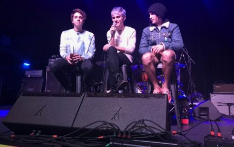 Waterparks is one of the bands that is playing on the final run of the Vans Warped Tour. Photo taken on Nov. 21, 2017, on the