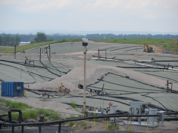 The West Lake Landfill, which contains nuclear waste, is located in Bridgeton, Missouri.  Photo from Wikimedia Commons