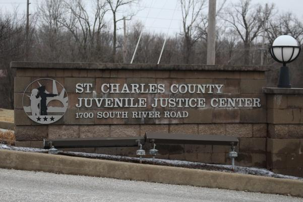 The+sign+outside+of+the+St.+Charles+County+Juvenile+Justice+Center.++Photo+by+Abby+Stone