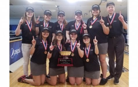 The women's bowling team won the USBC intercollegiate team championship national title in Lincoln, Nebraska, on Saturday. <br> Photo used with permission by Merlina San Nicolas.