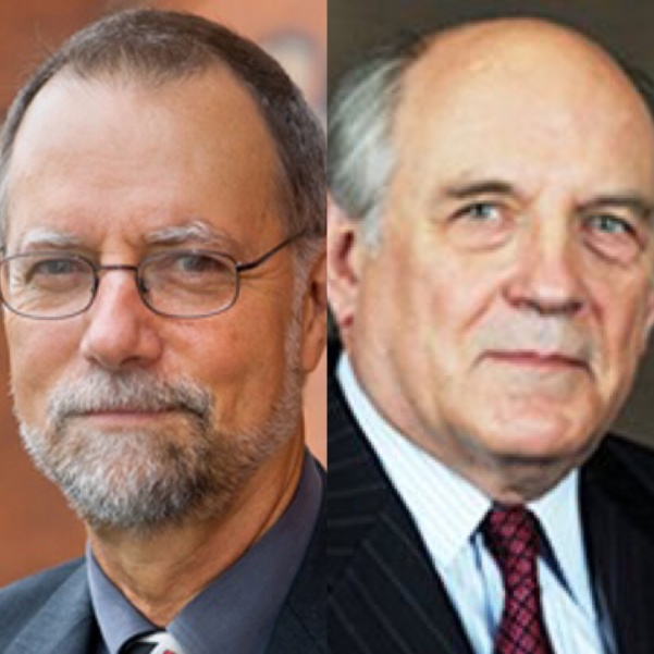 Robert Frank (left) and Charles Murray (right) will be speaking in the