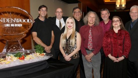 Members of the band Borrowed Notes at Ameristar Casino on Nov. 10, 2017. The band has played campus events like Sibley Day, the Christmas Walk and will play at the pavilion quad on Friday. <br> Photo provided by Christopher Scribner.