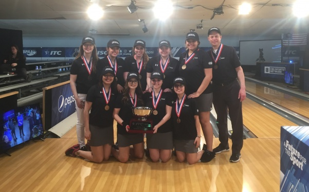 The women's bowling team have won their second intercollegiate team championship since 2006. The championship will air on CBS Sports at 7 p.m. on Thursday.  Photo provided by Phil Vida
