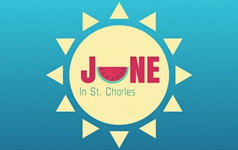 There are many things to do around the St. Charles area during the month of June.   Graphic by Michelle Sproat.
