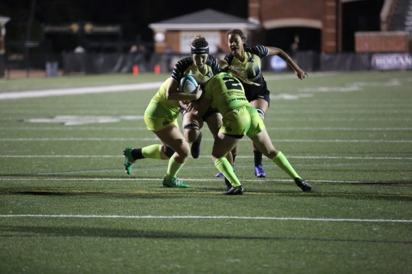 Lindenwood plays against Life University in a game during the fall of 2016 at Hunter Stadium.  File photo by Carly Fristoe