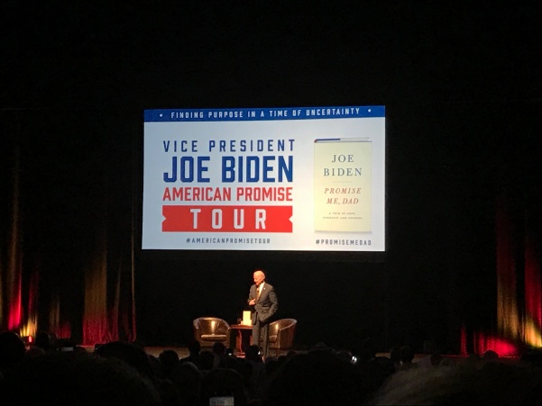 Former+Vice+President+Joe+Biden+discusses+hope%2C+his+son+and+running+for+president+during+his+speaking+event+Thursday+night+at+the+Peabody+Opera+House.+%3Cbr%3E+Photo+by+Megan+Courtney