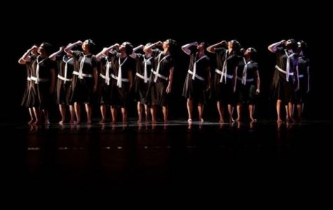 Students in the Lindenwood Dance Program performing