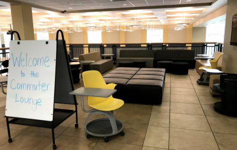 The new Commuter Lounge is located on the third floor of Evans Commons. <br> Photo by Lindsey Fiala