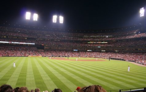 The St. Louis Cardinals are playing games this week on Sept. 4 and Sept. 5 <br> Photo from Wikimedia Commons