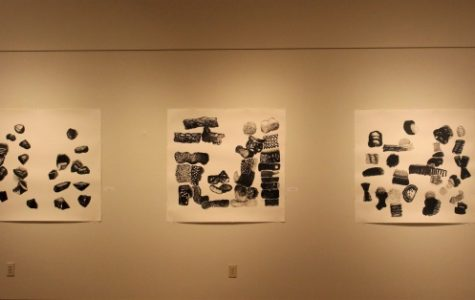 Studio art professor displays original work in exhibit