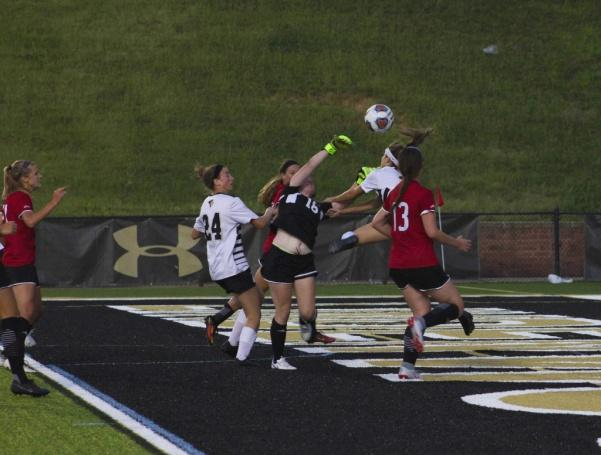 Stock photo from Sept. 3 when the Lindenwood Lions played Maryville University at Harlen C. Hunter Stadium.  Photo by Lindsey Fiala.