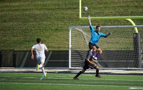 Men's soccer wins overtime thriller against previously undefeated Bisons