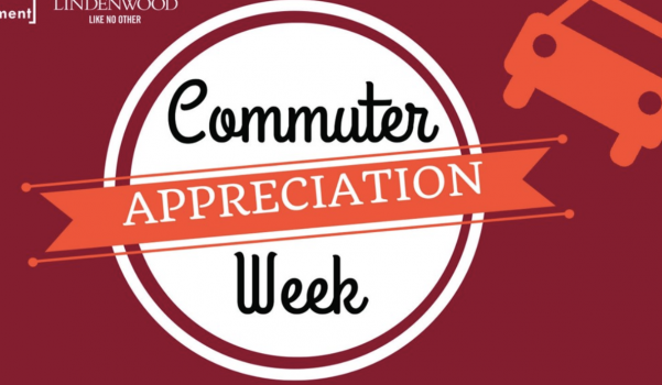 Commuter Appreciation Week is September 16-20th. Graphic from InvolveU