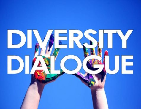 The Diversity Dialogue is a monthly event that highlights a variety of topics. <br> Graphic by Tyler Keohane.