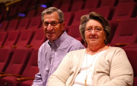 Scheidegger's biggest fans, a couple with no theater background