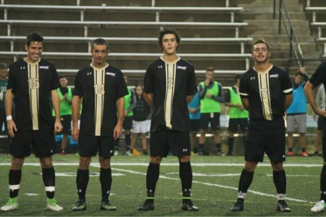 Scholl leads men's soccer to dominant victory over Bearcats