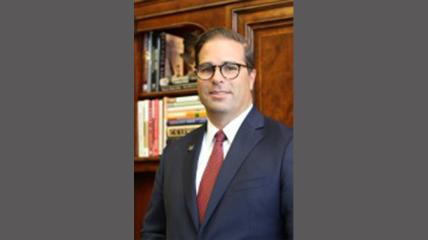 Brett Barger became president of the Lindenwood campus in Belleville, Illinois in 2015.  Photo from the Lindenwood Belleville website