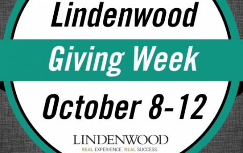 Giving Week is a week to donate to different Lindenwood groups and schools. Every group can receive funds from this event. <br> Logo provided by Kassandra Linzmeier.