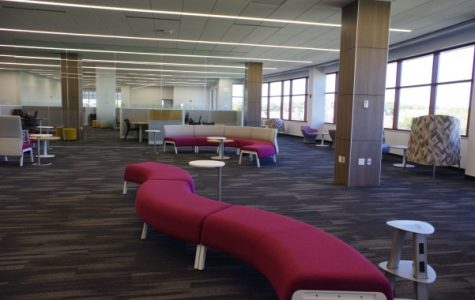 The new area in Spellmann will offer both academic and financial services to students.