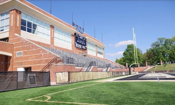 The Student-Athlete Center in September.
