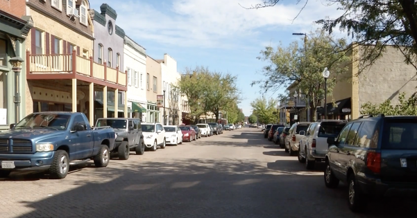 Eighteen bars on N. Main Street will be affected by the updated laws.  Photo by Jake Baumgartner