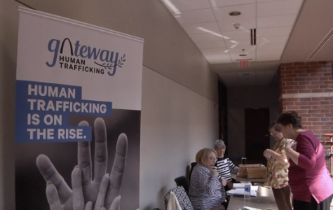 Student organizes human trafficking conference