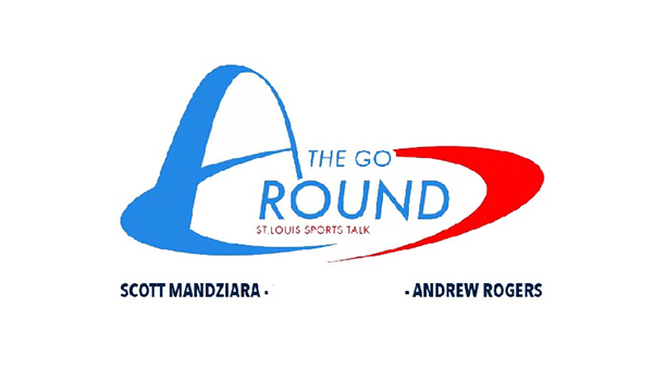 The Go Around, a podcast focused on professional and collegiate sports, hosted by seniors Scott Mandziara and Andrew Rogers.  Graphic from Scott Mandziara
