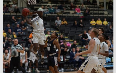 Men's basketball wins home opener against Missouri Baptist