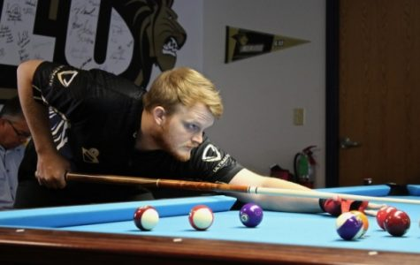 Billiards team secures 5 wins in fall season