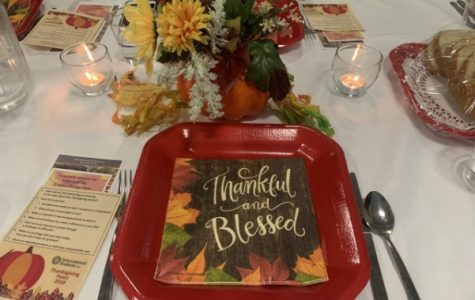 Thanksgiving Feast by International Student Fellowship on November 9, 2018 at Calvary Church, St. Peters. <br> Photo by Sandy Leegumjorn