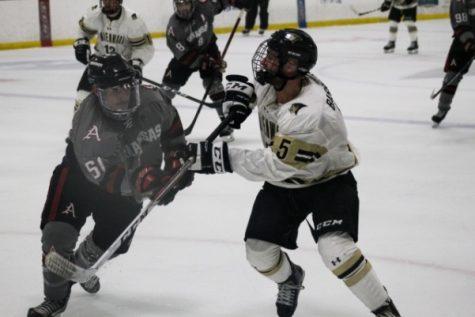 Sophomore forward Zach Mitchell helps spark hockey's 16-0 start
