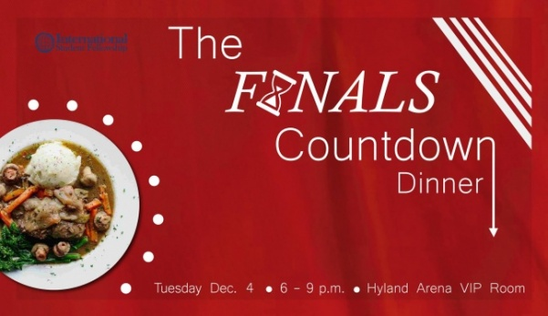 The+Finals+Countdown+Dinner+by+International+Student+Fellowship+is+on+Tuesday%2C+Dec.+4+in+the+Hyland+Arena+VIP+Room.%3Cbr%3E+Photo+courtesy+of+International+Student+Fellowship
