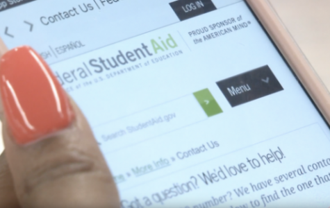 The Free Application for Federal Student Aid came out with a new app for 2018 to make the process easier for students and parents. <br> Photo by Taylor Grant