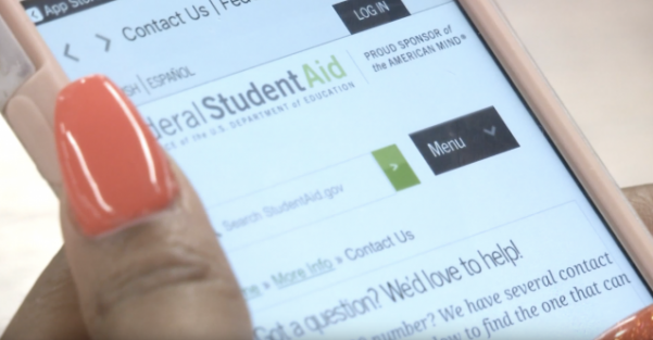 The Free Application for Federal Student Aid came out with a new app for 2018 to make the process easier for students and parents.  Photo by Taylor Grant