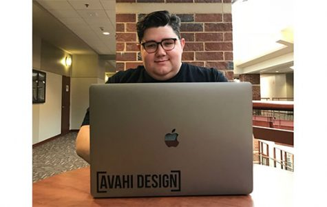 Designing his future, student pursues entrepreneurship