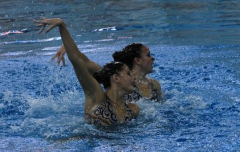 Synchronized swimming is 'ahead' of the game this season