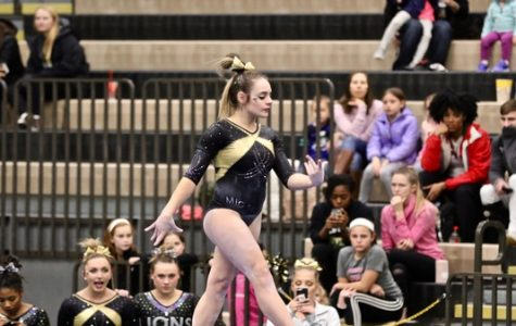 Gymnastics defeats Centenary, expands winning streak to 4
