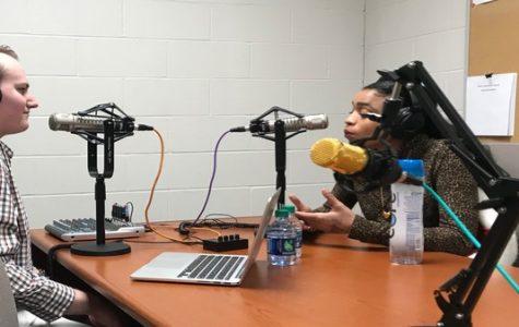 Atlantic Records recording artist visits KCLC