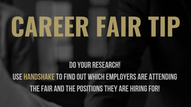 The Internship & Career Fair will be held in the lower level courts of Evans Commons on Feb. 21 from 2-5 p.m.  Photo provided by Madison Nowling