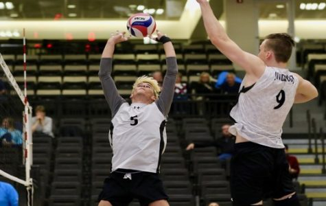 Men's volleyball loses back to back matches in Indiana