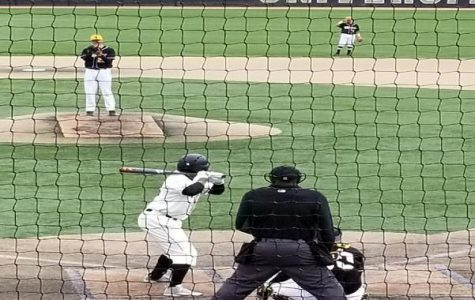 The men's baseball team won two out of three games against Missouri Western over the weekend. <br> Photo by Chris McCoy.