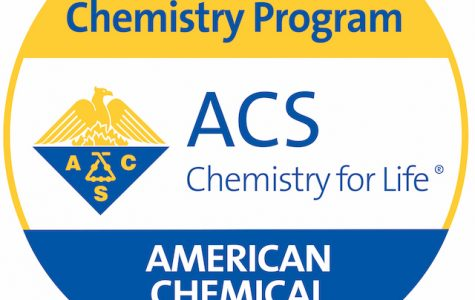 Lindenwood's Chemistry program is now an approved American Chemical Society program.  Logo provided by Jennifer Firestine