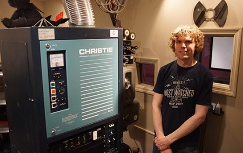 Audio-visual envy: LU Alumnus fills old school with old-school tech