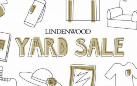 The 2nd annual yard sale will take place May 4 from 9 a.m. until 1 p.m. in the Scheidegger parking lot. Graphic from Residential Life.