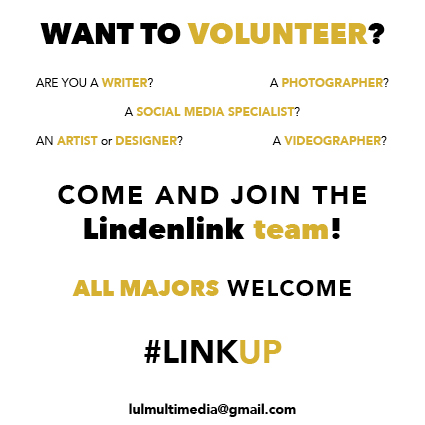 Want to Volunteer? Come and Join the Lindenlink team!
