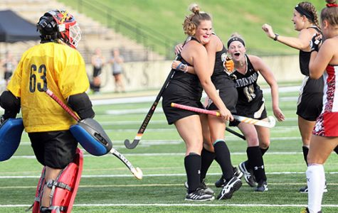 Women's field hockey wins home opener